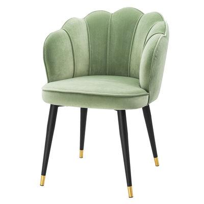Eichholtz Dining chair bistrol pistache groen velvet