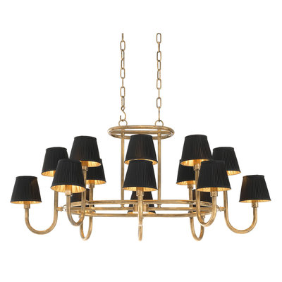 Eichholtz Kroonluchter Chandelier Sparrows Vintage brass finish