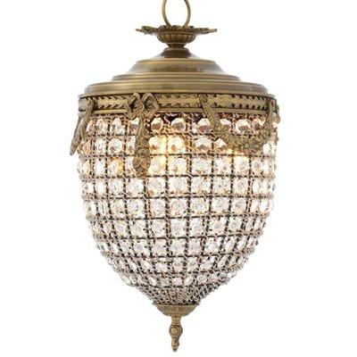 Eichholtz Hanglamp Chandelier Emperor S - kristalglas brass