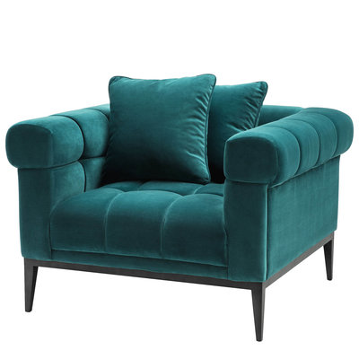 Eichholtz Chair Aurelio Savona sea green