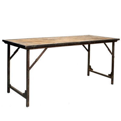 Foldable Market Table
