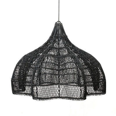 Rattan Whipped Pendant XL