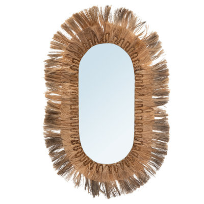 Bazar Bizar Grote Ovale Spiegel XL
