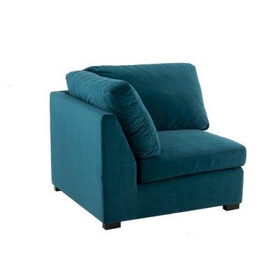 Bank Myles Groen-Blauw Tweezitter