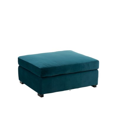 Poef Myles Groen-Blauw