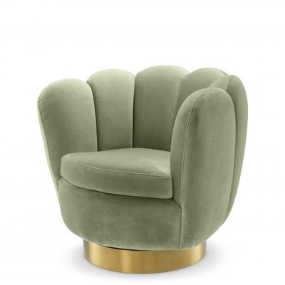 Eichholtz Swivel Chair Mirage Pistache Groen