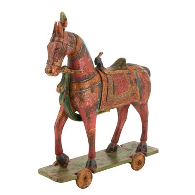 J-Line Paard op Wielen