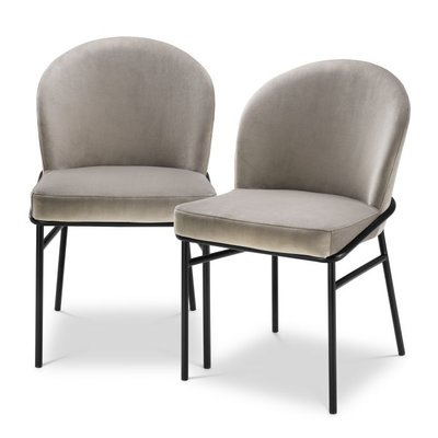 Eichholtz Dining Chair Willis Set 2 Greige