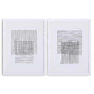 Eichholtz Print EC344 Pencil Drawings