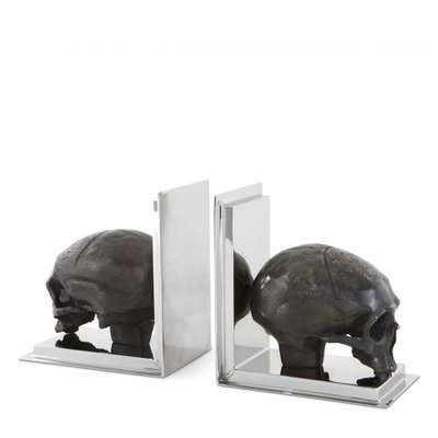 Eichholtz Bookensteun Skull set of 2