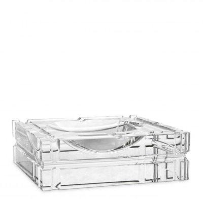 Eichholtz Asbak Nestor Kristal Glas