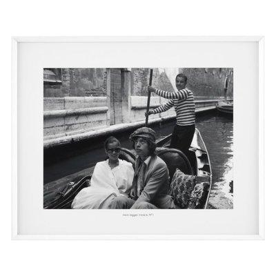 Eichholtz Print Mick Jagger, Venice 1971