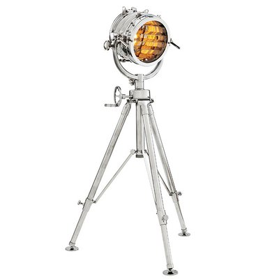 Eichholtz Floor lamp Royal Master Sealight Polished Aluminium