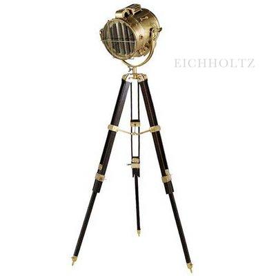 Eichholtz Lamp Atlantic Geel-koper/Bruin statief