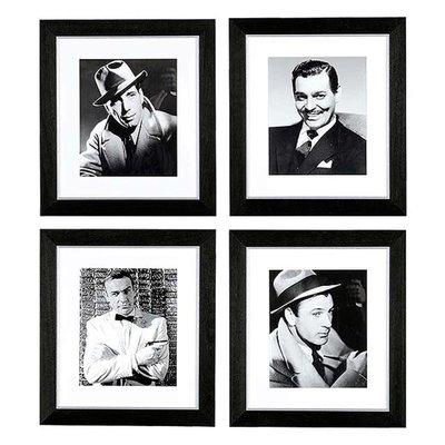 """Eichholtz Foto Collage """"Cinema Gentlemen set of 4"""""""
