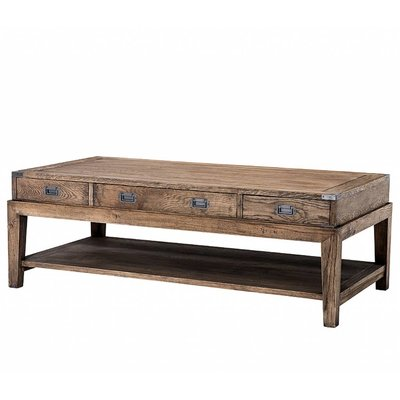 Eichholtz Salontafel Coffee Table Military Smoked oak
