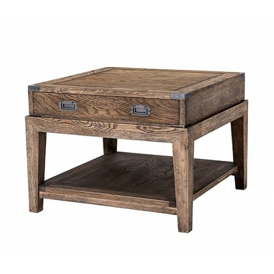 Eichholtz Bijzettafel Side Table Military Smoked oak