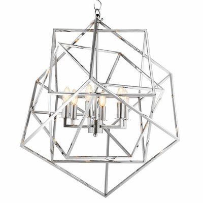 Eichholtz Hanglamp Matrix Nikkel