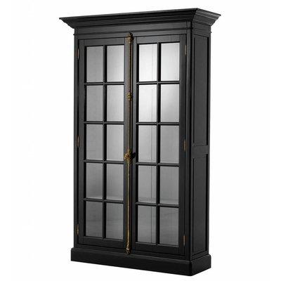 Eichholtz Vitrinekast Cabinet Côte Sud zwart