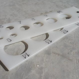 AVH Machinebouw Kunststof bollenmaten multiple ziftmaten