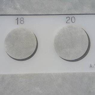 AVH Machinebouw Kunststof bollenmaat dubbele Ziftmaat