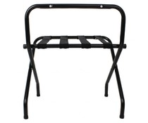 M&T Luggage rack black 650(H) x 500(L)mm