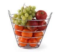 M&T Fruit basket 21.5 cm chrome plated
