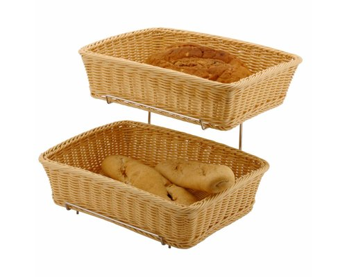 M&T Buffet stand 2 baskets GN 1/2