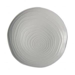 PILLIVUYT Flat plate 26,5 cm TECK white