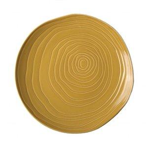PILLIVUYT Flat plate TECK 26.5 cm honey