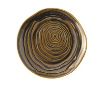 Pullivuyt Flat plate TECK 21 cm bronze