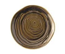 Pullivuyt Plat bord TECK 16,5 cm brons