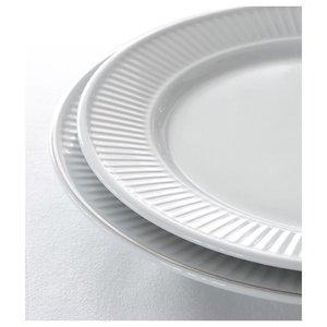 PILLIVUYT Flat plate 17 cm Plissé