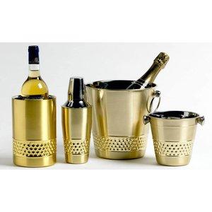M&T Wijnkoeler dubbelwandig goudkleur