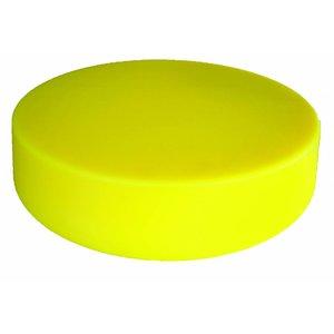 M&T Cutting board round yellow 45 cm