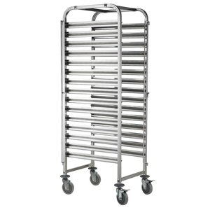 M&T Gastronorm racking trolley 15 x GN 1/1