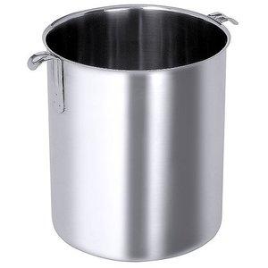 M&T Bain marie 8 liter rond met handvaten