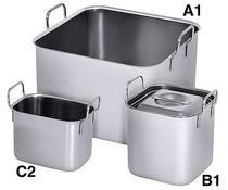 M&T Bain marie vierkant type A1 4 liter