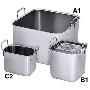M&T Bain marie square type A1 4 liters