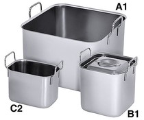 M&T Bain marie square Type B1 5 liters