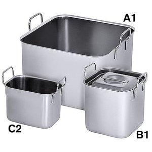 M&T Bain marie vierkant Type B1 1,50 liter