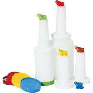 M&T Set van 5 stuks baropslagflessen 0,8 liter Store & Pour