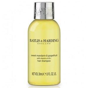 Baylis & Harding Flesje 30 ml shampoo doos met 100 stuks