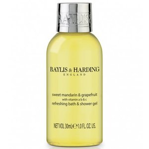Baylis & Harding Bottle 30 ml bath & shower gel carton with 100 pieces