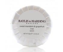 Baylis & Harding Zeepje 30 gr verpakt in gepliseerd papier doos met 200 stuks