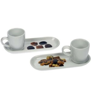 M&T Mini cup 5.5 cl with oval saucer