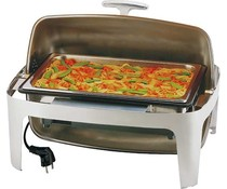 M&T Electric chafing dish with rolltop