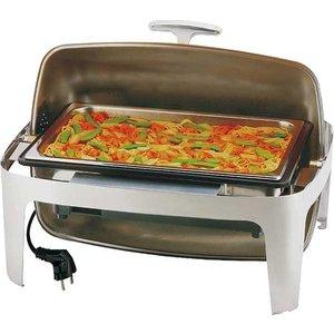 M&T Chafing dish elektrisch met rolltop