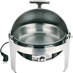 M&T Chafing dish electric round with rolltop