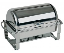 M&T Chafing dish met rolltop